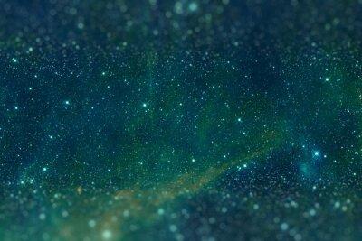 Canvas print The region 30 Doradus lies in the Large Magellanic Cloud galaxy.