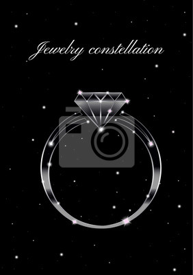 The ring of constellations in the starry sky