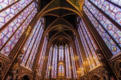 Canvas print The Sainte Chapelle in Paris