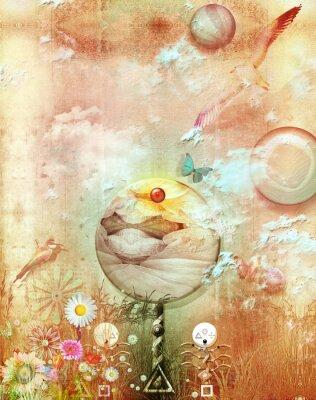Canvas print The secret kingdom series