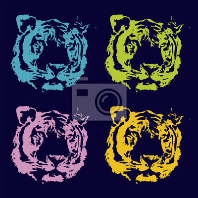 Canvas print Tiger