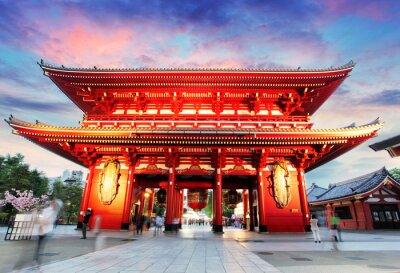 Canvas print Tokyo - Japan, Asakusa Temple