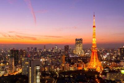 Canvas print Tokyo Tower, Tokyo, Japan