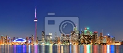 Canvas print Toronto cityscape