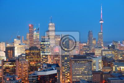 Toronto dusk