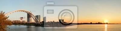 Toronto sunrise panorama