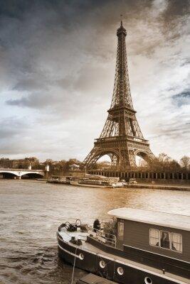 Canvas print Tour Eiffel
