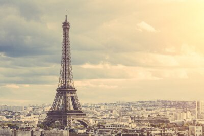 Canvas print Tour Eiffel in Paris