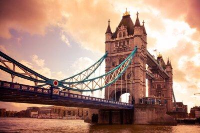 Canvas print Tower Bridge London, UK