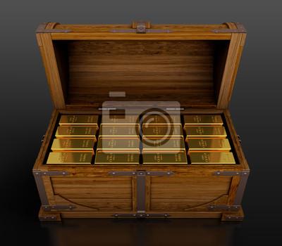 Canvas print Treasure chest
