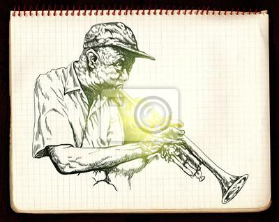 trumpeter, jazz man