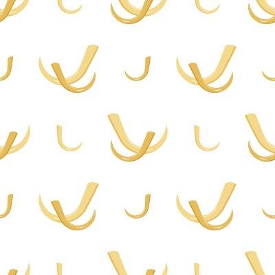 Canvas print tusk seamless pattern