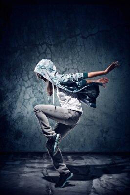 Canvas print urban dance