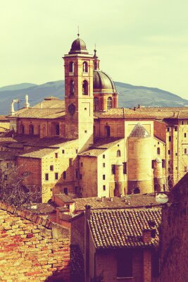Canvas print Urbino vintage