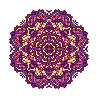 Canvas print Vector mandala ornament