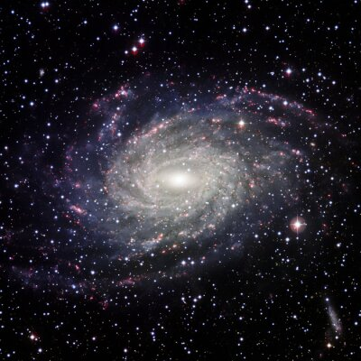 Canvas print View Galaxy system isolated Elements of this image furnished by NASA