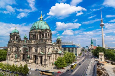 Canvas print View of Berlin Cathedral