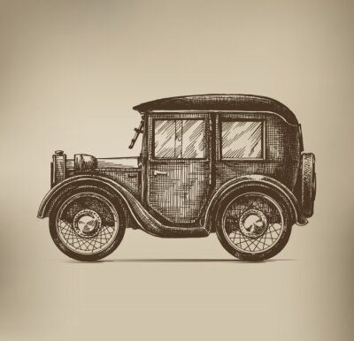 Canvas print Vintage Car