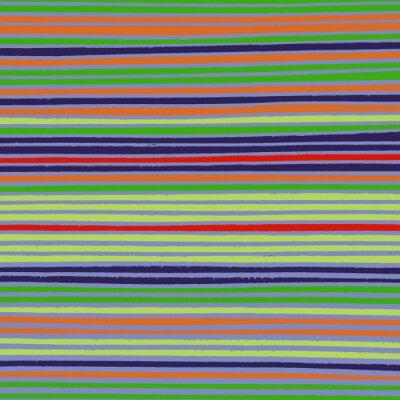 Canvas print Vintage Lined Background