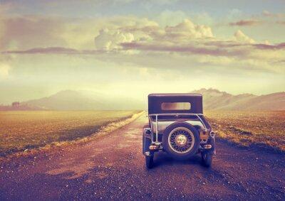Canvas print Vintage travel