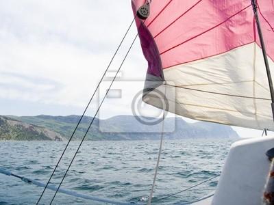 walk on a yacht