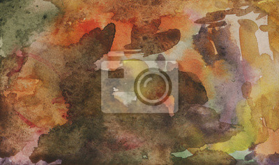 Watercolor background. Abstract painting