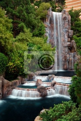 Waterfall and Horticulture, Las Vegas