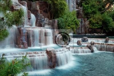 Waterfall mountain, Las Vegas