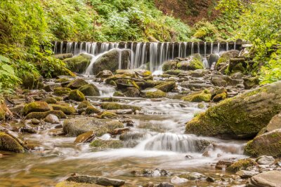 Canvas print Waterfall spikes.