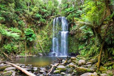 Canvas print waterfall Tasmania