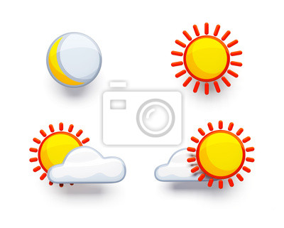 weather symbol set