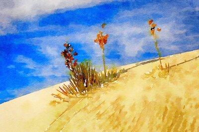 Canvas print White Sands