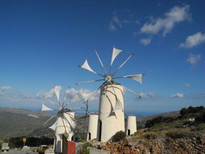 Canvas print Windmühle auf der Lassithi-Hochebene