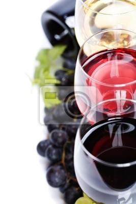 Canvas print Wine composition