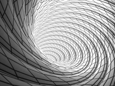 Canvas print Wired Vortex Background