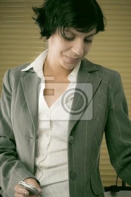 Canvas print woman