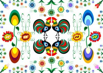 Canvas print Wzory ludowe