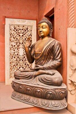 Canvas print статуя Будды, Агра