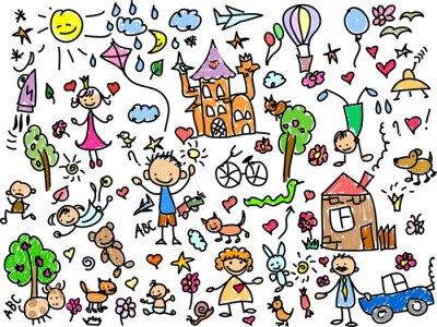 Canvas print Детские рисунки