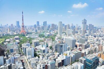 Canvas print 東京の眺め