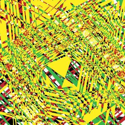 Canvas print yellow texture grunge background, illustration design element