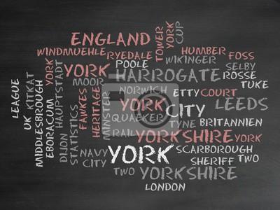 Canvas print York