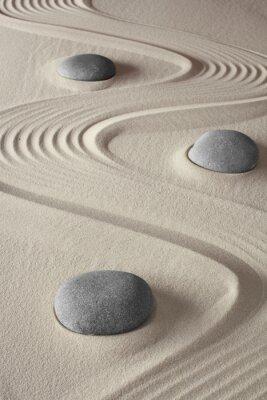 Canvas print Zen garden