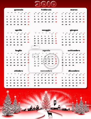 2010-Natale Calendario-Christmas Calendar-Calendrier Noël