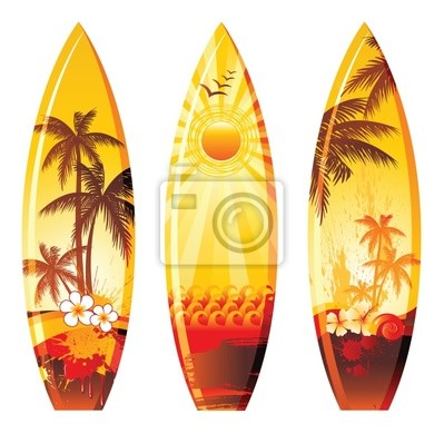 3 surf boards