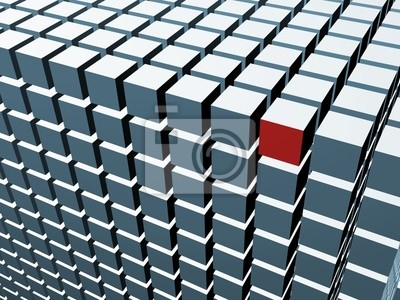 3D cube array