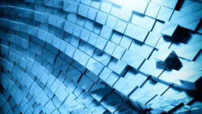 Wall mural 3D futuristic background