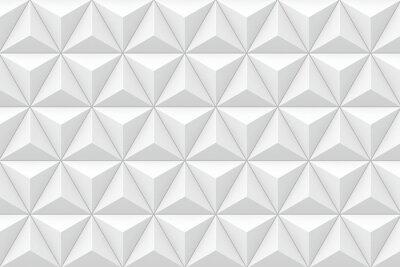 Wall mural 3D geometric triangular texture