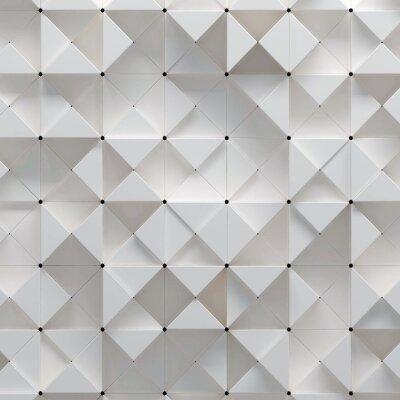 Wall mural 3d illustration of geometric pattern