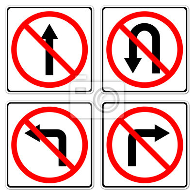 4 Do not do on red circle traffic sign